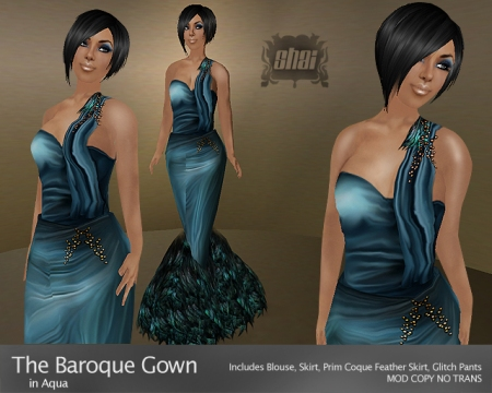 The Baroque Gown
