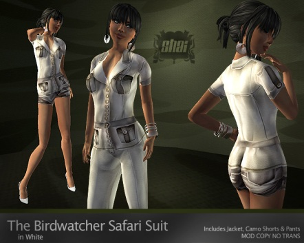 Birdwatcher White