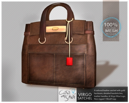 Shai Virgo Satchel in Chestnut